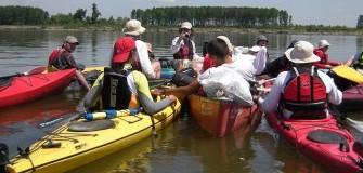 Cu caiacul pe Dunare in weekend - caiac-canoe in Giurgiu